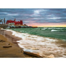 Point Betsie, MI Canvas