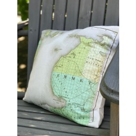 Emmet County envelope-style pillow